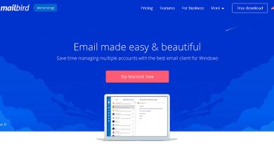 mailbird client di posta
